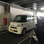 コストコの駐車場で大爆笑!! 買物前から楽しませてくれました